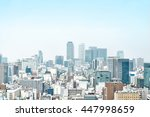 business concept   panoramic... | Shutterstock . vector #447998659
