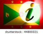 flag of grenada  national... | Shutterstock . vector #44800321
