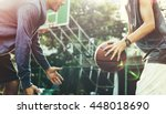 Small photo of Basketball Player Athlete Exercise Sport Stadium Concept
