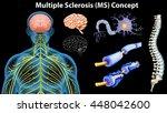 diagram showing multiple... | Shutterstock .eps vector #448042600
