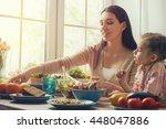 Happy Family Having Dinner...