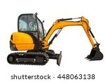 Small Or Mini Excavator With...
