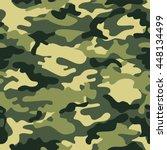 camouflage pattern  | Shutterstock .eps vector #448134499