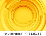 3d rendering concentric...   Shutterstock . vector #448136158