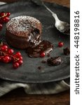 Warm Chocolate Lava Cake With...