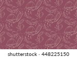 seamless pattern of the spilled ... | Shutterstock .eps vector #448225150