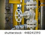 valves manual in the production ...   Shutterstock . vector #448241593