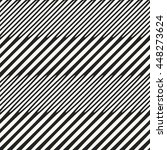 abstract optical effect striped ... | Shutterstock .eps vector #448273624