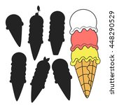 ice cream. find the right... | Shutterstock .eps vector #448290529
