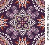 seamless pattern. vintage... | Shutterstock . vector #448291210