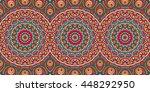 seamless pattern. vintage... | Shutterstock . vector #448292950