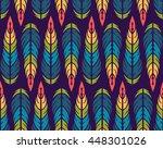 seamless pattern. vintage... | Shutterstock . vector #448301026