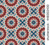 seamless pattern. vintage... | Shutterstock . vector #448302430