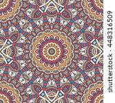 seamless pattern. vintage... | Shutterstock . vector #448316509