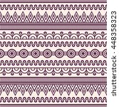 seamless pattern. vintage... | Shutterstock . vector #448358323