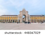 lisbon  portugal   december 26  ... | Shutterstock . vector #448367029