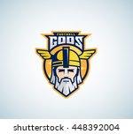 football gods vector sport team ... | Shutterstock .eps vector #448392004