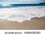 Huge Ocean Waves In Carmel By...