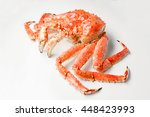 large red king crab from... | Shutterstock . vector #448423993