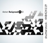 awesome stylish geometric... | Shutterstock .eps vector #448424119