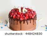 Birthday Chocolate Cake With...