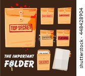 folders set with different...   Shutterstock .eps vector #448428904