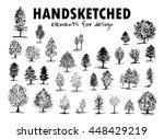 vector element for design.... | Shutterstock .eps vector #448429219
