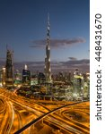 dubai  uae   november 14  2015  ... | Shutterstock . vector #448431670