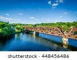 Railroad Bridge Over The...