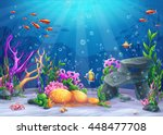 Marine Life Landscape   The...