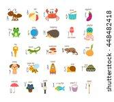 Children Alphabet With Cute...