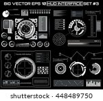 abstract future  concept vector ... | Shutterstock .eps vector #448489750