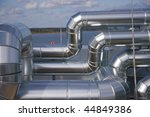 industrial piping | Shutterstock . vector #44849386