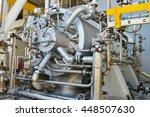 engine turbine operation in oil ... | Shutterstock . vector #448507630