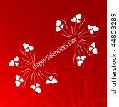 valentine background | Shutterstock .eps vector #44853289