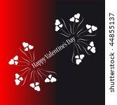 valentine background | Shutterstock .eps vector #44855137