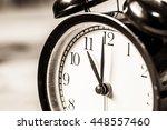 Retro Vintage Clock On Sack...
