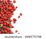 Healthy Strawberry Isolated On...