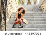 Afro American  Little Girl...