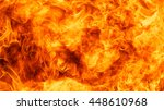blaze fire flame texture... | Shutterstock . vector #448610968