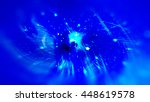 blue abstract background... | Shutterstock . vector #448619578