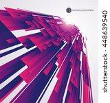 abstract graphics  vector...   Shutterstock .eps vector #448639540
