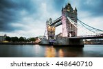 tower bridge at night  london | Shutterstock . vector #448640710