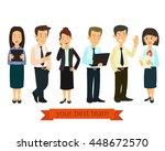 design studio people.... | Shutterstock .eps vector #448672570