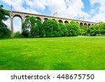 digswell viaduct  welwyn... | Shutterstock . vector #448675750
