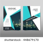 brochure template layout  cover ... | Shutterstock .eps vector #448679170
