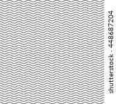 black seamless wavy line... | Shutterstock .eps vector #448687204