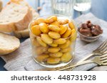 Salted Lupins In Glass With...