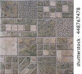 tile matte ceramic mosaic | Shutterstock . vector #448767478