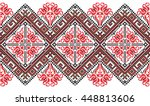 embroidered good like old... | Shutterstock .eps vector #448813606